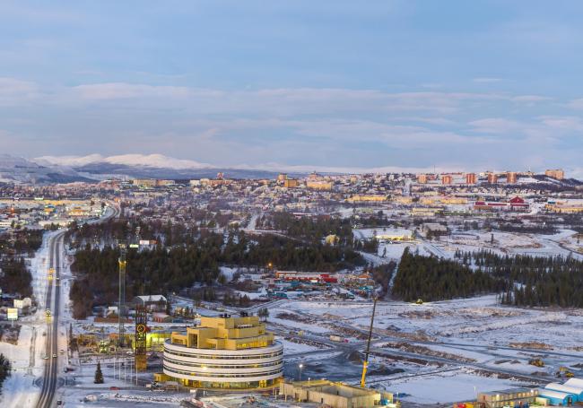 Ратуша Кируны. Фото © Peter Rosén/LapplandMedia
