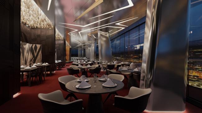 Отель Камчатка. Sky bar