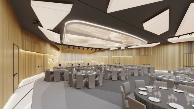 Kamchatka Hotel. The conference hall © TOTEMENT/PAPER