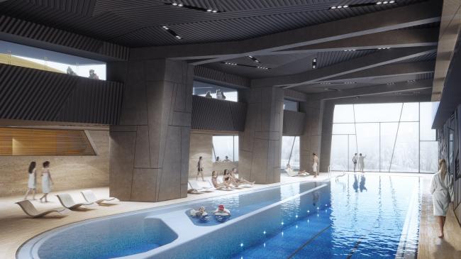 Отель Камчатка. Плавательный бассейн