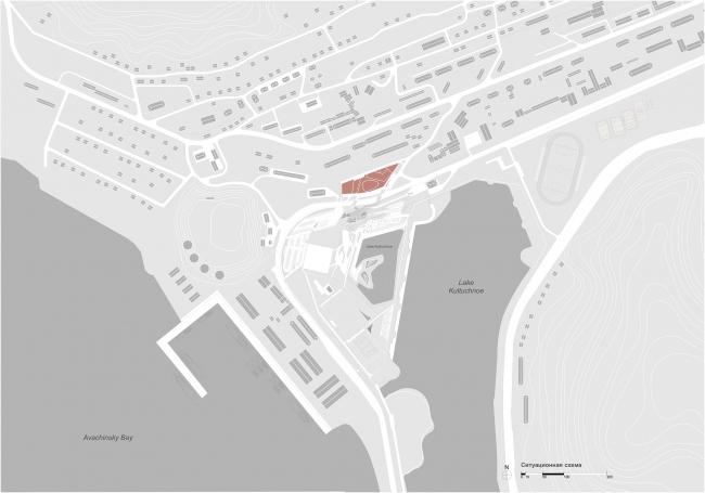 Отель Камчатка. Ситуационный план
