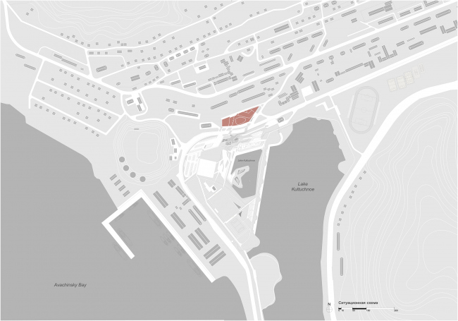 Kamchatka Hotel. Location plan  © TOTEMENT/PAPER