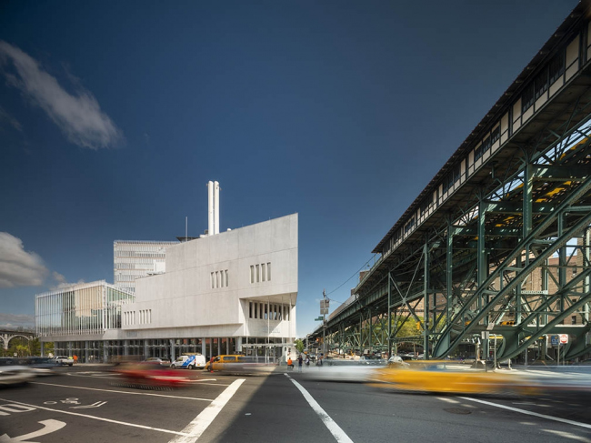 «Форум» – корпус кампуса в Манхэттенвилле Колумбийского университета © Nic Lehoux, предоставлено RPBW/ Columbia University