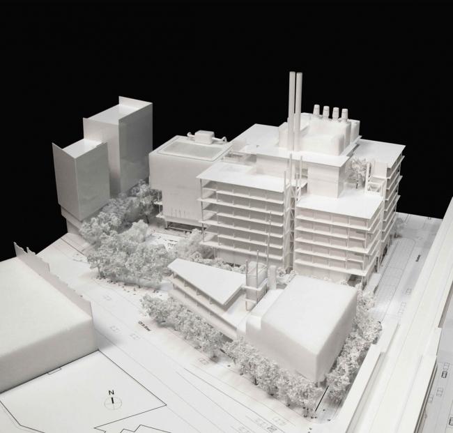 «Форум» – корпус кампуса в Манхэттенвилле Колумбийского университета © RPBW