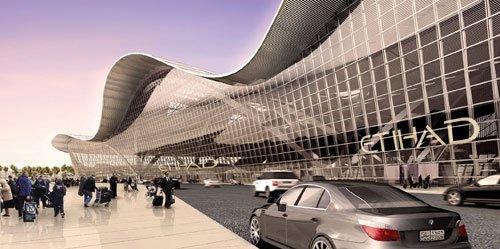 Комплекс терминала Мидфильд аэропорта Абу-Даби