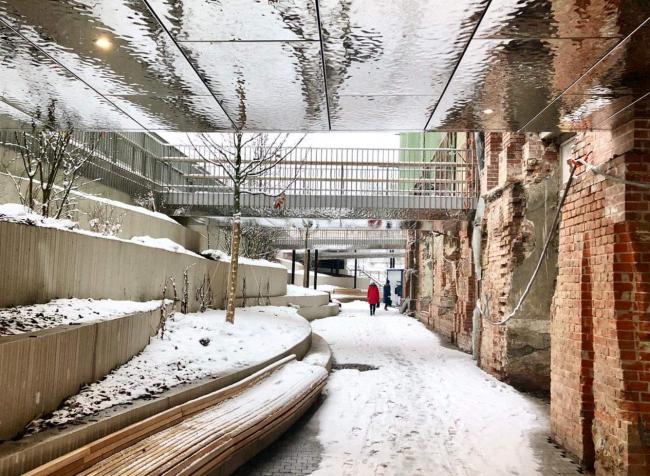 Благоустройство общественных пространств Политехнического музея, Wowhaus. Проект не завершен, но в самом разгаре