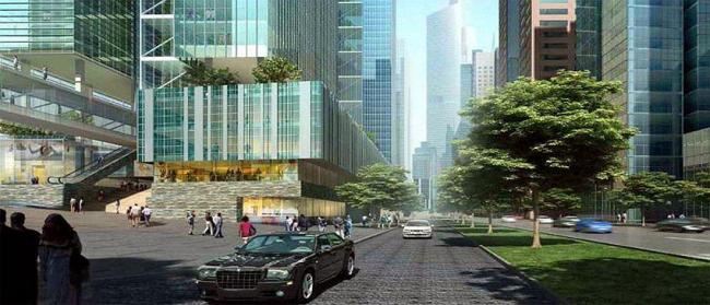Район «Финансовая улица»
