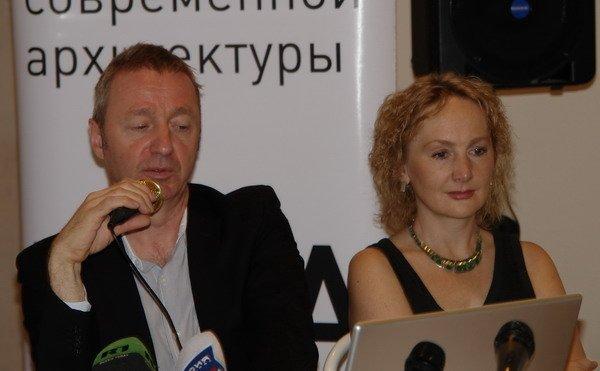 Томас Лизер и директор ЦСА Ирина Коробьина