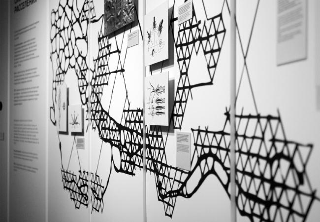 Выставка «НЭР: По следам города будущего. 1959–1977». 2019. Фотография: Юлия Тарабарина, Архи.ру