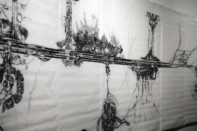 НЭР: Русло, Триеннале, 1968. Выставка «НЭР: По следам города будущего. 1959–1977». 2019. Фотография: Юлия Тарабарина, Архи.ру
