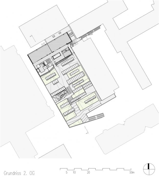 Корпус лабораторий и мастерских Центра ПТУ Грац-Санкт-Петер © Michael Wallraff