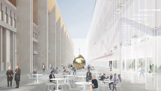 Проект реконструкции Московского Дворца Молодежи 2019 г