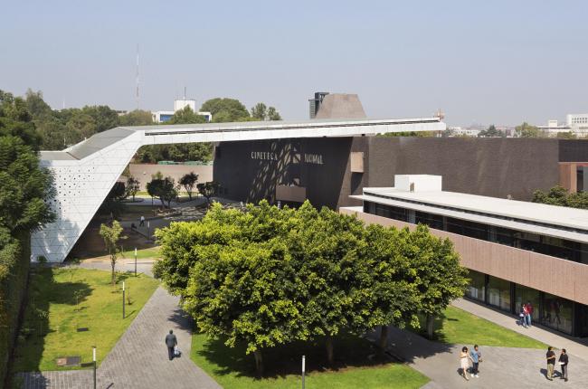 Национальный киноархив / Cineteca National. Фото: Paul Rivera © Rojkind Arquitectos