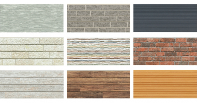 Японские фасадные панели KMEW. Изображение предоставлено компанией «КМ-Технология»