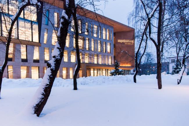 Хорошёвская гимназия, Москва /  А-Проект.К, концерн «КРОСТ». Изображение предоставлено АПМО