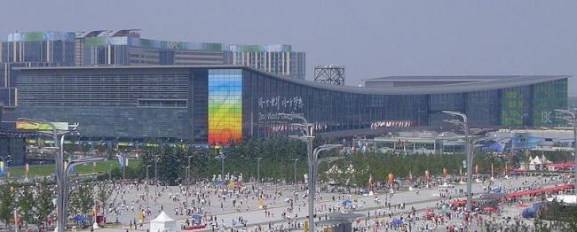 Пекинский Олимпийский «Зеленый» Конгресс-центр. Фото:  Doma-w via Wikimedia Commons. Лицензия GNU Free Documentation License, Version 1.2