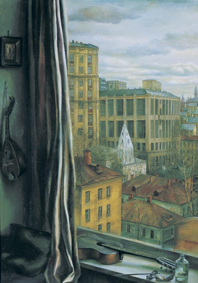 Татьяна Назаренко. «Мастерская художника». 1983. Предоставлено автором