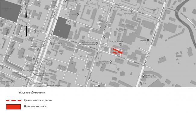 ЖК на ул. Прилукская. Ситуационный план © Архитектурная мастерская А.А. Столярчука