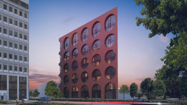Варианты решения фасадов © Проектное бюро АПЕКС