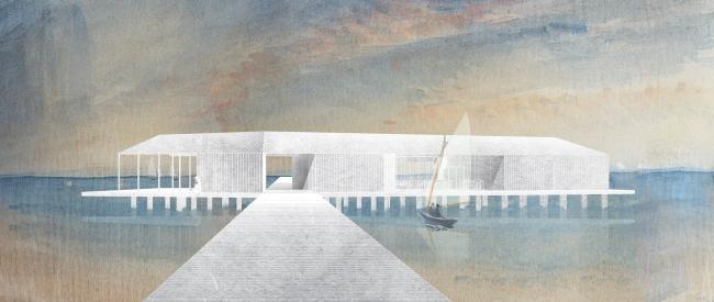 Архитектурно-градостроительная концепция развития села Кубенского. Яхт-клуб/детско-юношеская спортивная школа