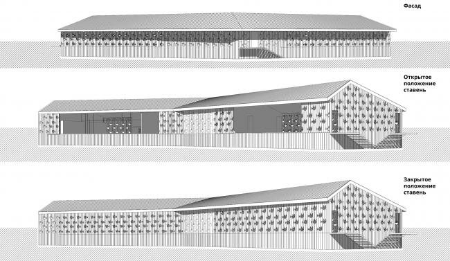 Архитектурно-градостроительная концепция развития села Кубенского. Яхт-клуб/детско-юношеская спортивная школа. Перспективные виды