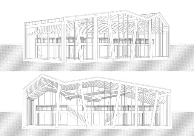 Архитектурно-градостроительная концепция развития села Кубенского. Вариант 2. Перспективные виды