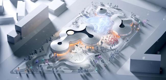Концепция территории «Парка будущих поколений» в Якутске