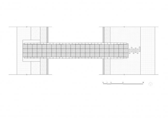 Мост в Шанхае. План © Tsinghua University (School of Architecture) – Zoina Land Joint Research Center for Digital Architecture (JCDA)