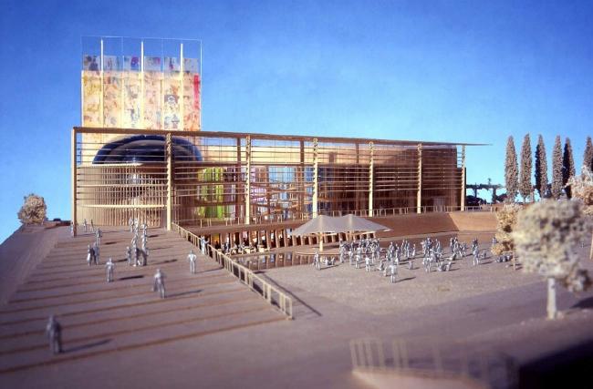 Национальный театр на Кипре. KPF