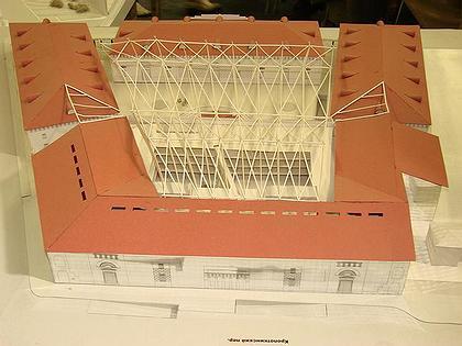 Реконструкция Провиантских складов