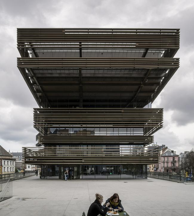 Библиотека Де Крок в Генте. Фотография © Hisao Suzuki