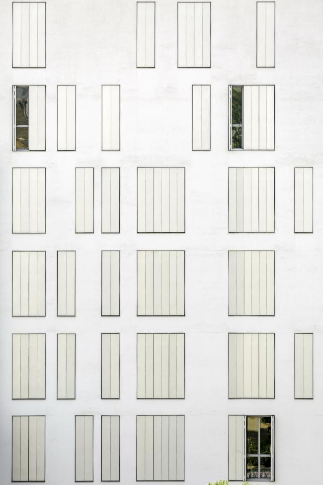 Комплекс социального жилья у бывшей фабрики Кан-Бальо. Фото © Pedro Pegenaute