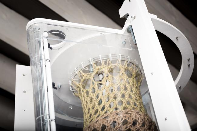 Конструкция, полученная в ходе эксперимента Бастиана Байера и Даниэля Суареса. Фотография © Bastian Beyer. Фотограф: Albert Palen