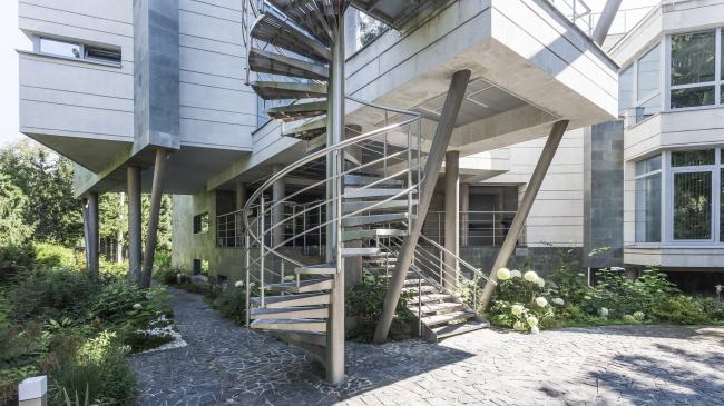 The ZEPPELIN residence © Studio of Roman Leonidov