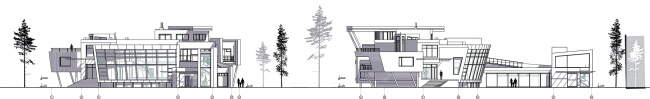 Жилой дом ZEPPELIN. Фасады © Архитектурное бюро Романа Леонидова