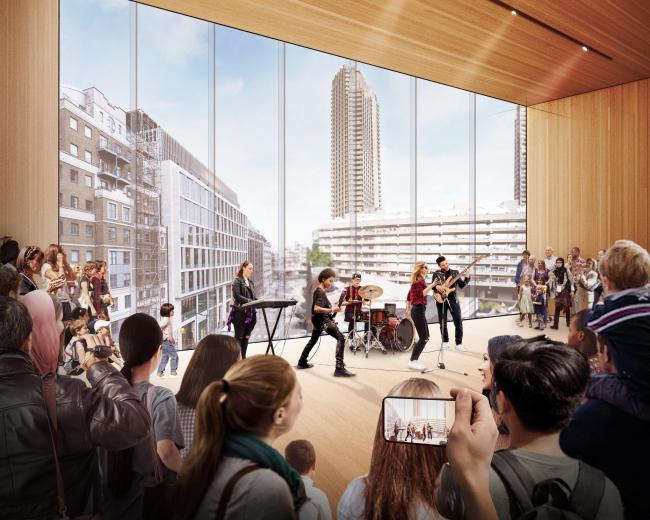 Лондонский центр музыки © Diller Scofidio + Renfro