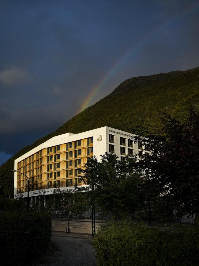 Больница Харальдспласс – новое крыло. Фото © Joergen True