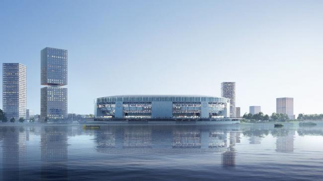 Стадион футбольного клуба «Фейенорд» © OMA