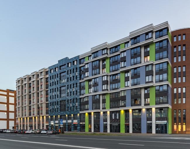 Многоквартирный жилой комплекс «Европа Сити» на проспекте Медиков