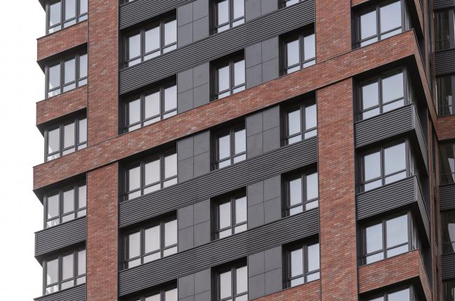 Жилой комплекс «Сердце Столицы». Проект, 2012. Изображение предоставлено Ströher