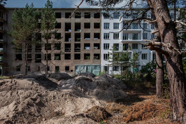 Курортный комплекс Прора на острове Рюген. Фото © Денис Есаков