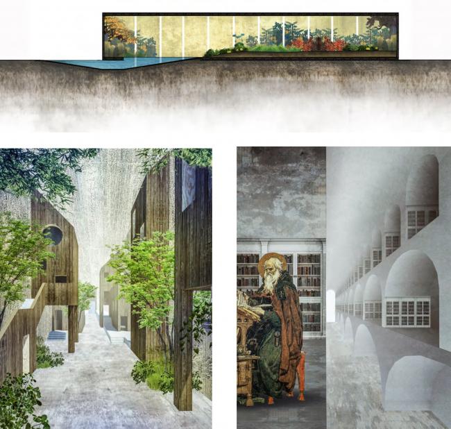 АНО. Архитектура после Ноль-объекта. Визуализация: Марина Никифорова