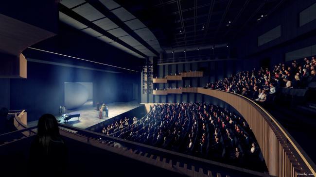 Опера Бастилии – реконструкция © Henning Larsen