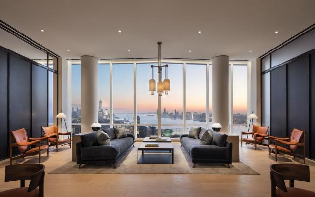 Башня 15 Hudson Yards. Салон. Фото:  Scott Frances для Related-Oxford