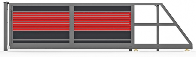 Модели PS005.   Фото с сайта компании «ЗАБОР-МОДЕРН РУ»