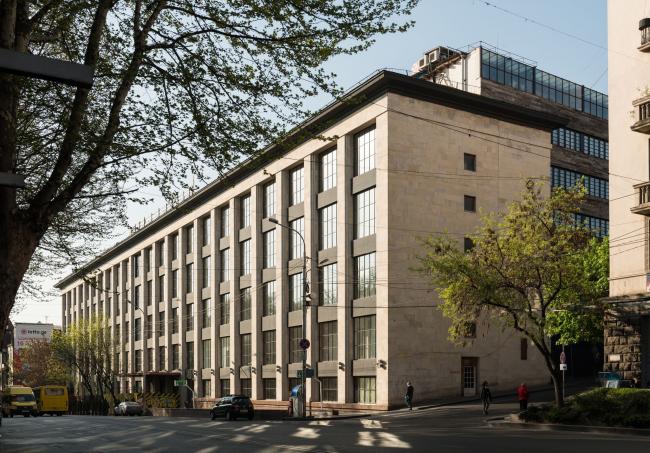 Отель Stamba, Тбилиси. Здание до реконструкции. Фотография предоставлена компанией Adjara Group