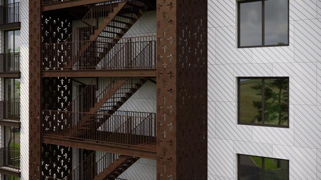 """Europe"" apartment hotel © Mezonproect"