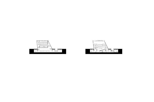 Культурный центр района Лунган © Mecanoo Architects