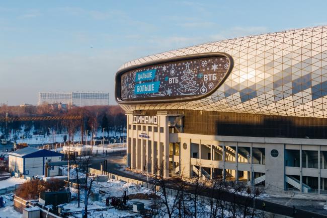 Реконструкция стадиона «Динамо». ВТБ Арена Парк