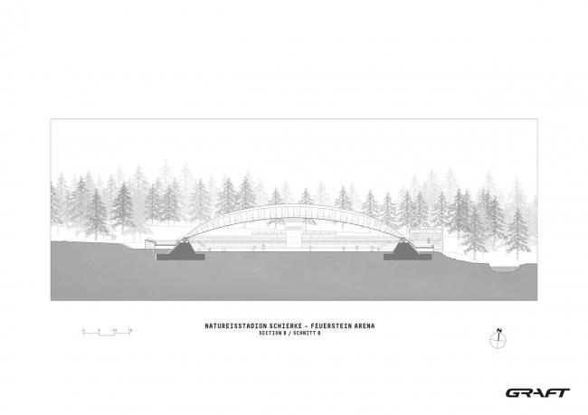 Ледовый стадион Schierker Feuerstein Arena © GRAFT GmbH